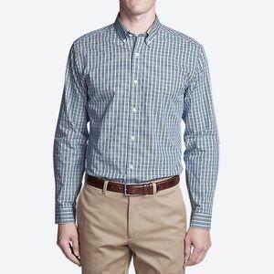 Eddie Bauer Wrinkle-Free Plaid Oxford Shirt